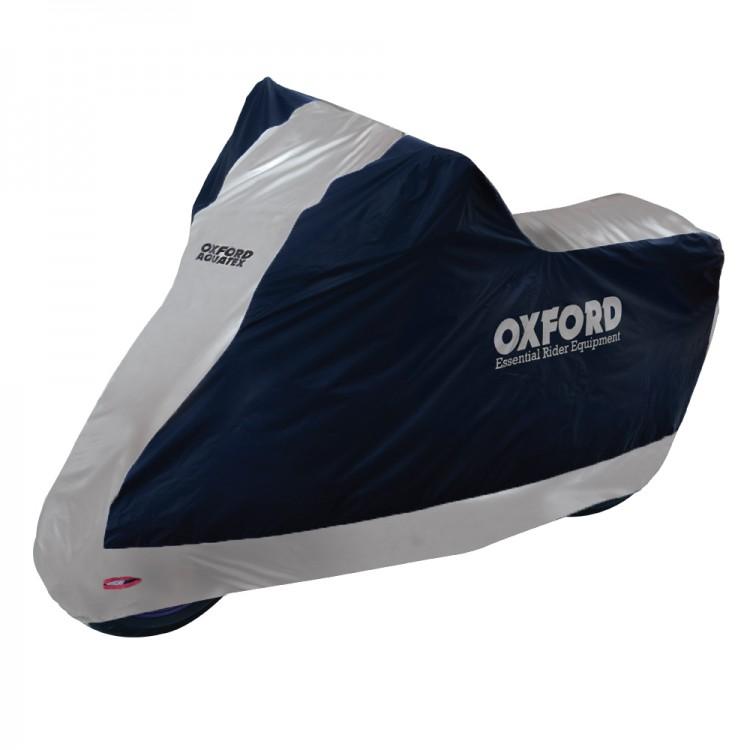 Husa moto impermeabila OXFORD Aquatex negru