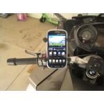 Suport telefon moto RAM Mount X-Grip Handlebar Mount Aluminum Steel Negru