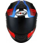 Casca moto SUOMY SR-SPORT ATTRACTION albastru-rosu