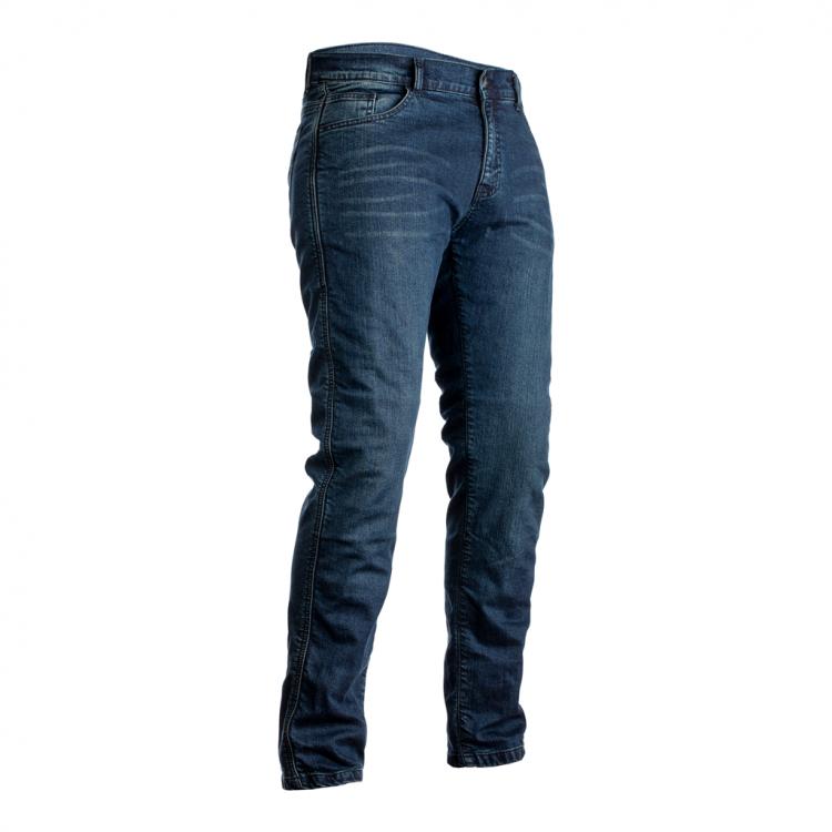 Blugi moto RST X KEVLAR STRAIGHT LEG albastru